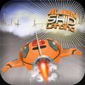 Alien Ship Landing Gold